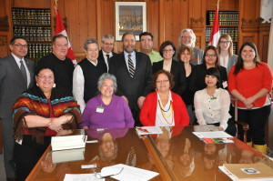 Meeting with NDP - March 2015